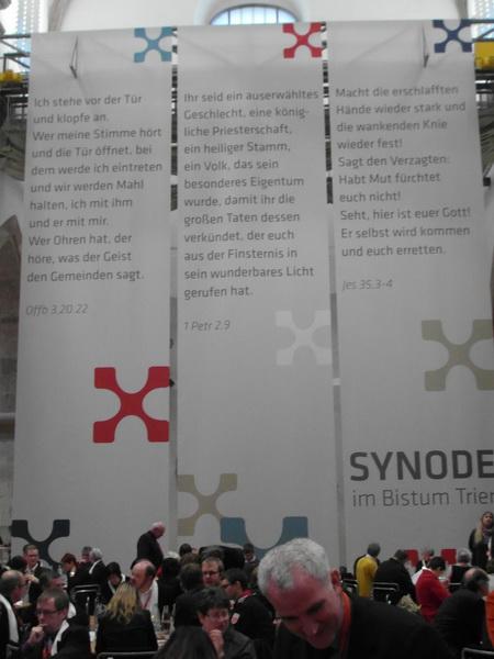 begrüßungsworte für synode